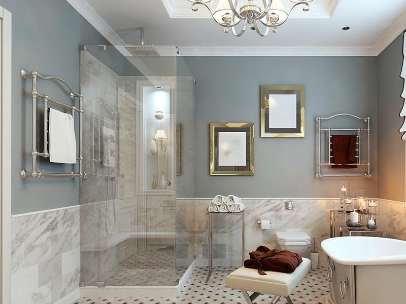 prachtige badkamer